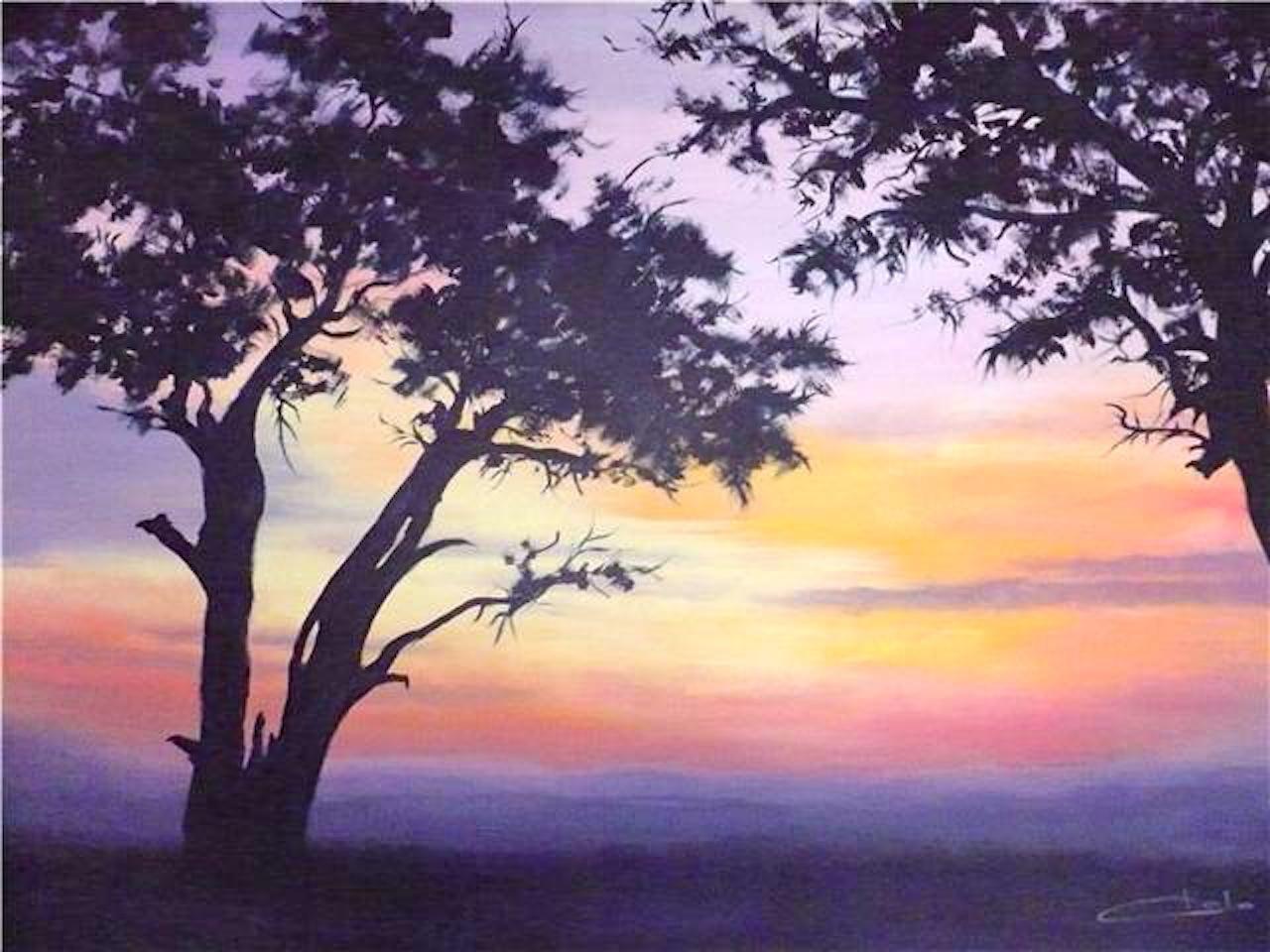 Puesta de sol en Africa