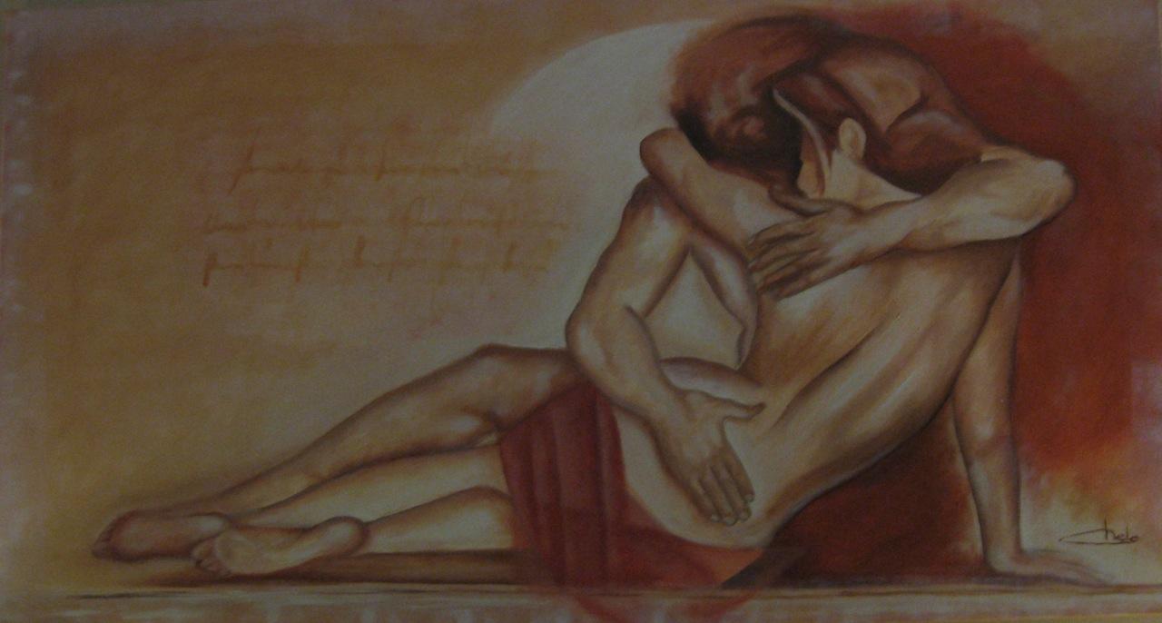 Entre abrazos