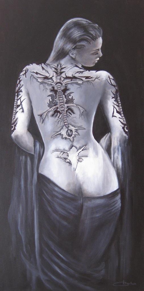 dibujos en cuerpo