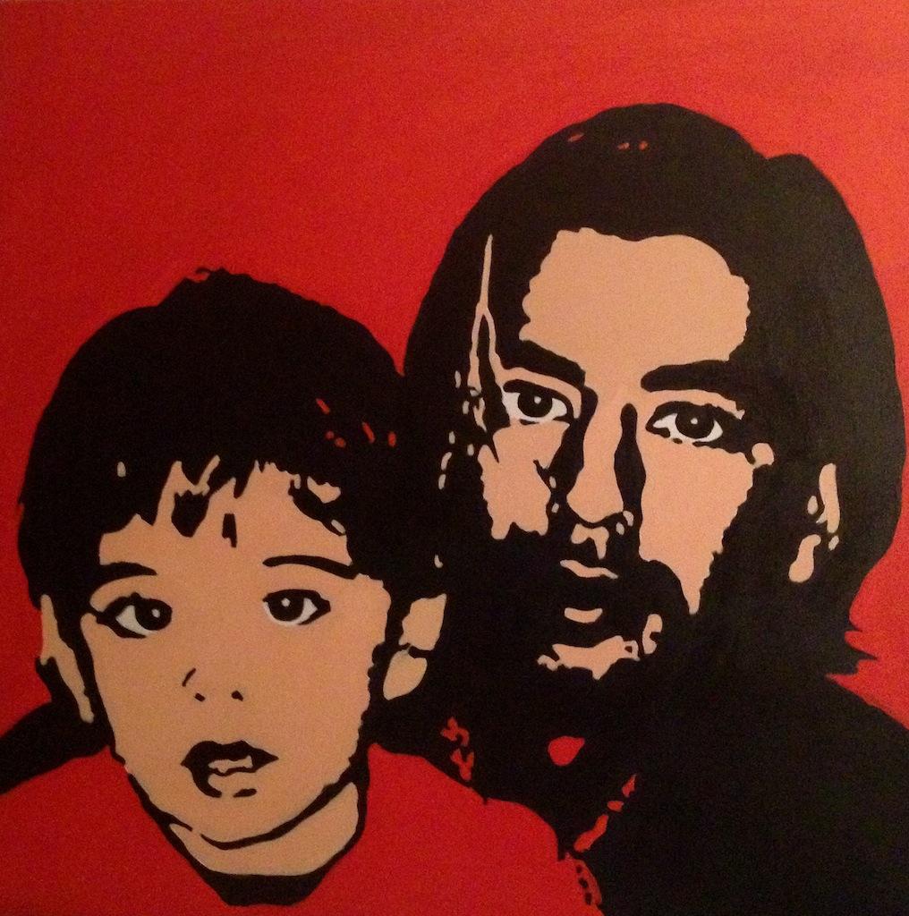 Mi hijo y mi nieto