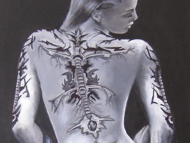 Dibujo en cuerpo