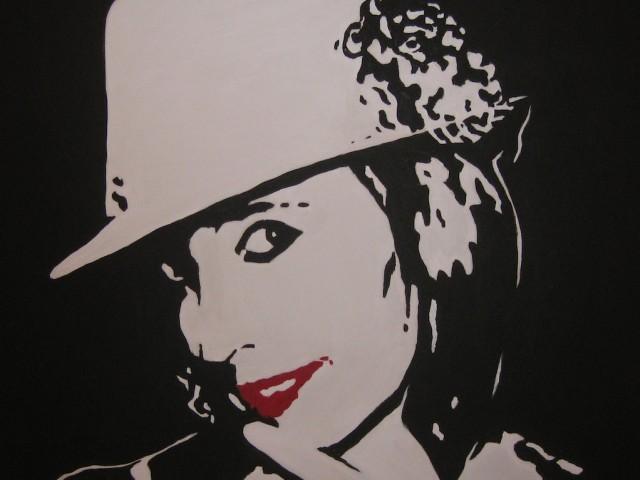 "Mi autoretrato, arte ""pop"""