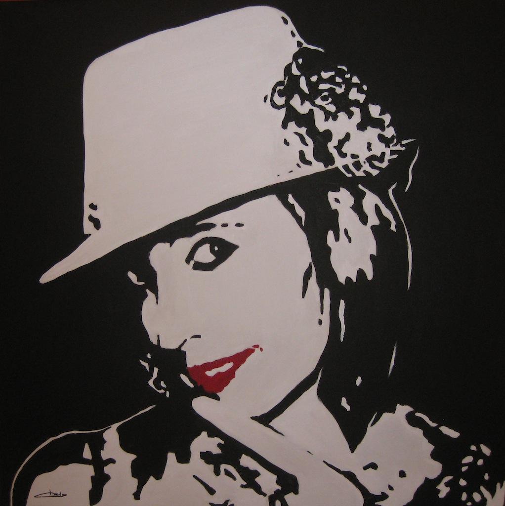 Mi autoretrato, arte «pop»