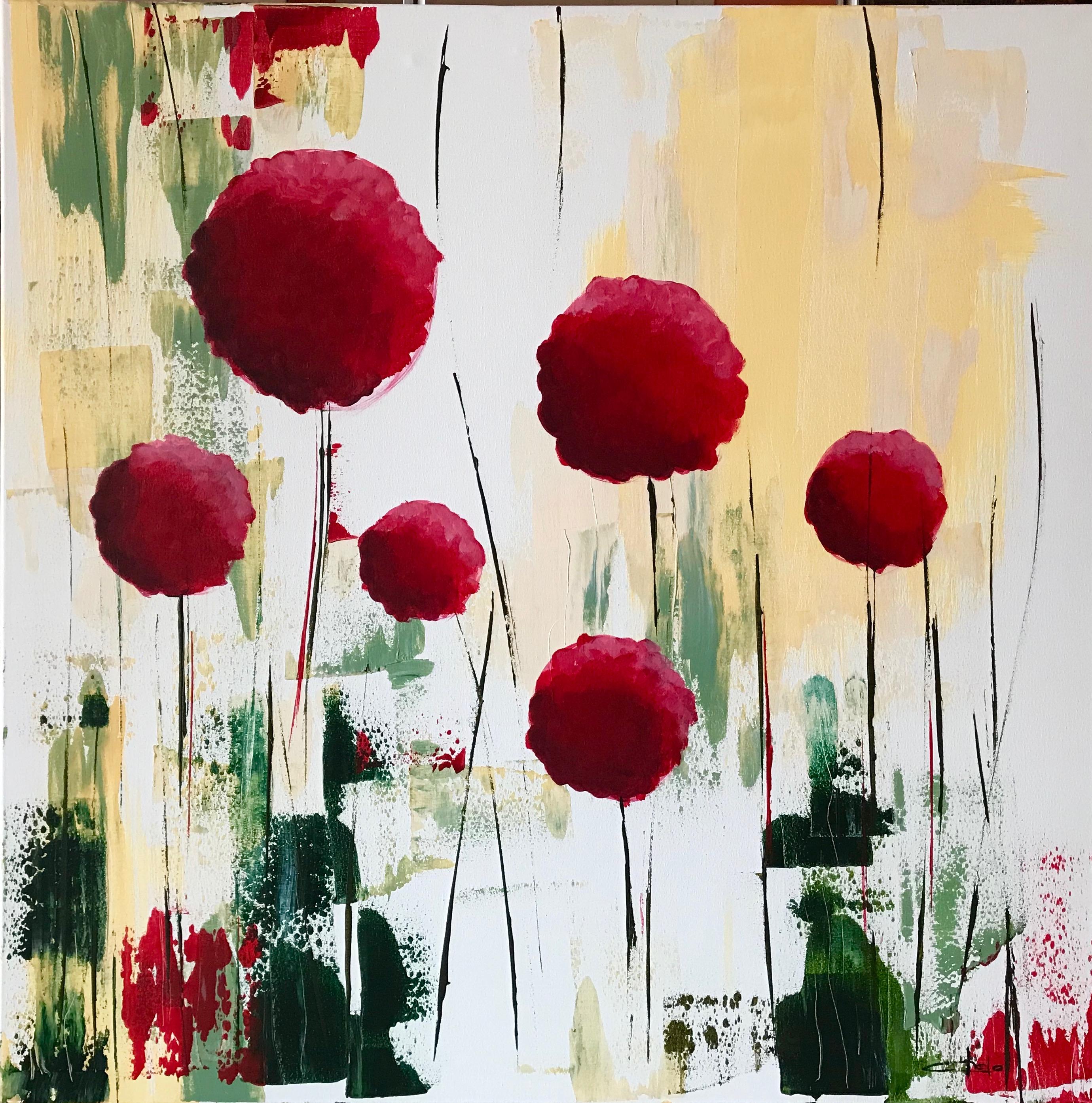 «Bolas de flor»