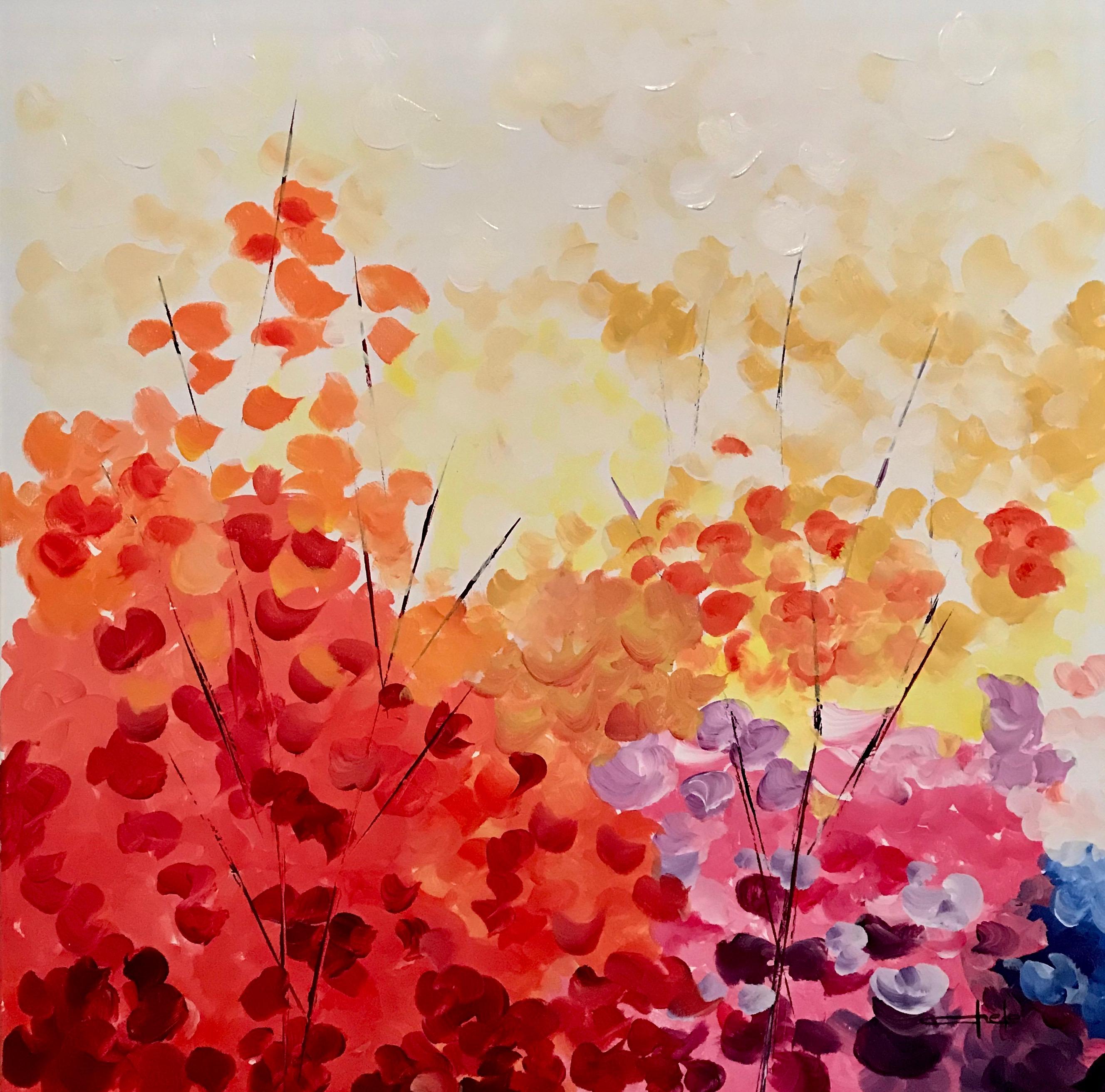 «Ramos de flores abstractas 2»