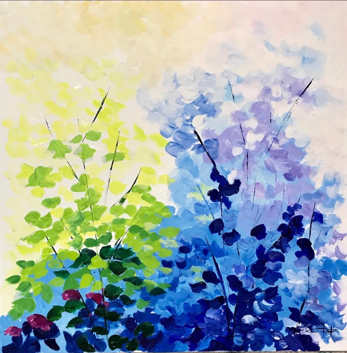 «Ramos de flores abstractas»