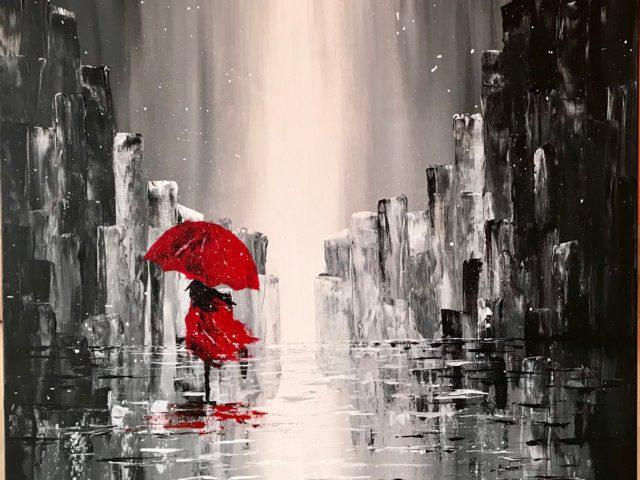 """""""La chica de rojo"""""""