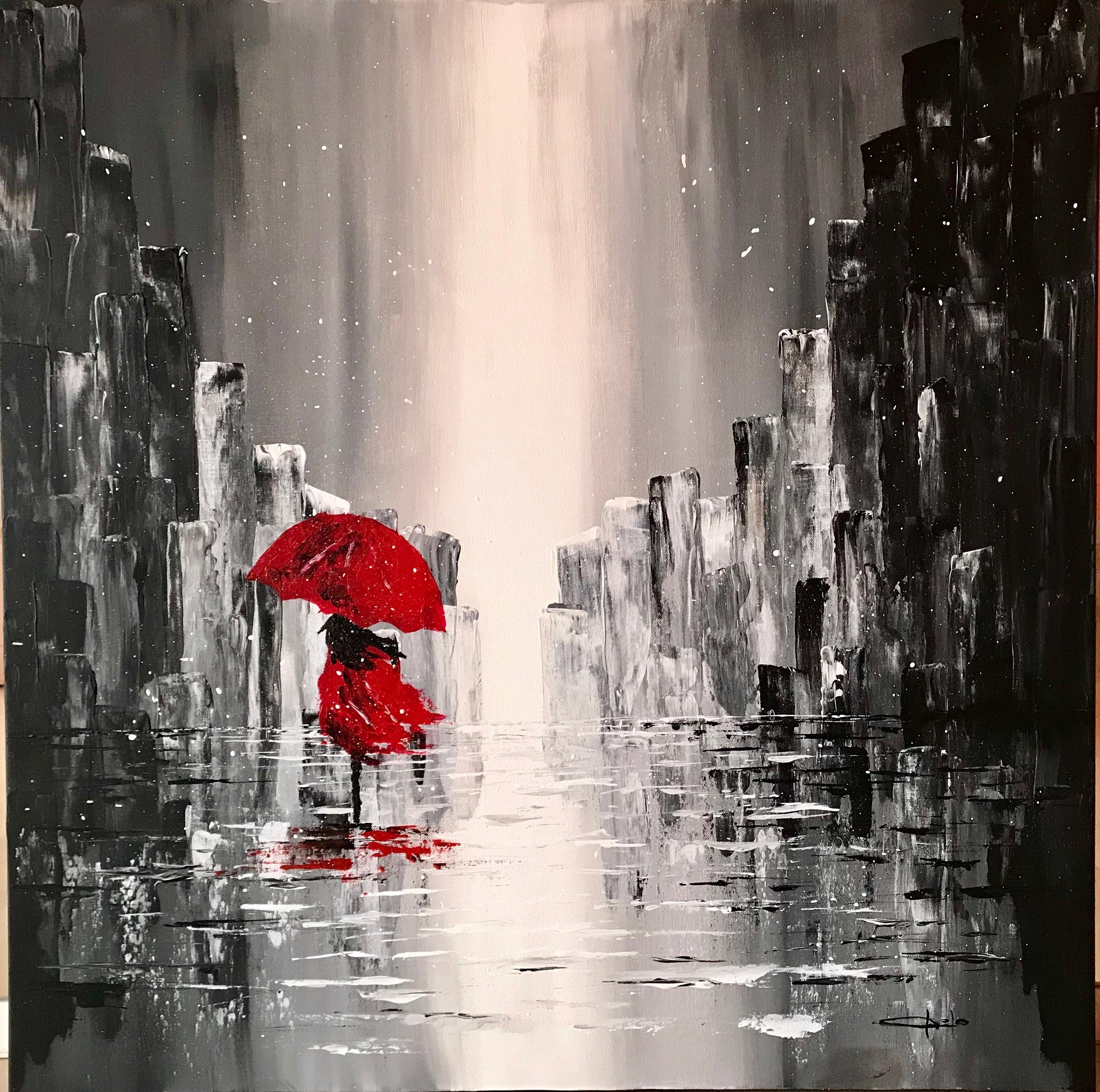 «La chica de rojo»