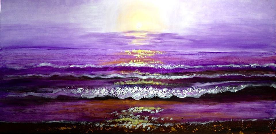 «Mar morado»