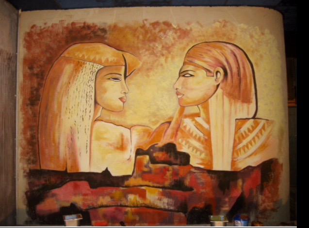 «Pareja egipcios»