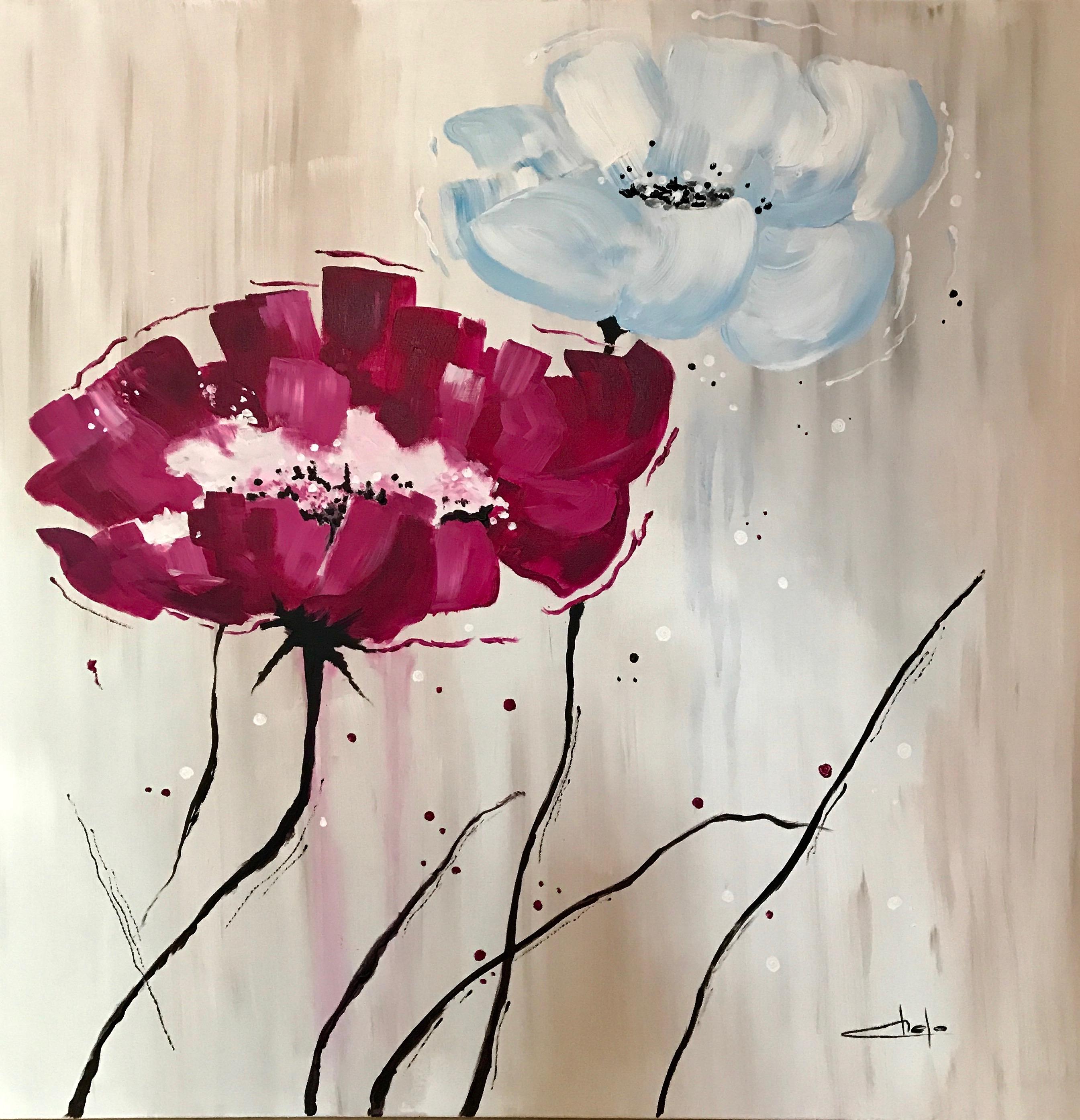 «Flores abstractas»