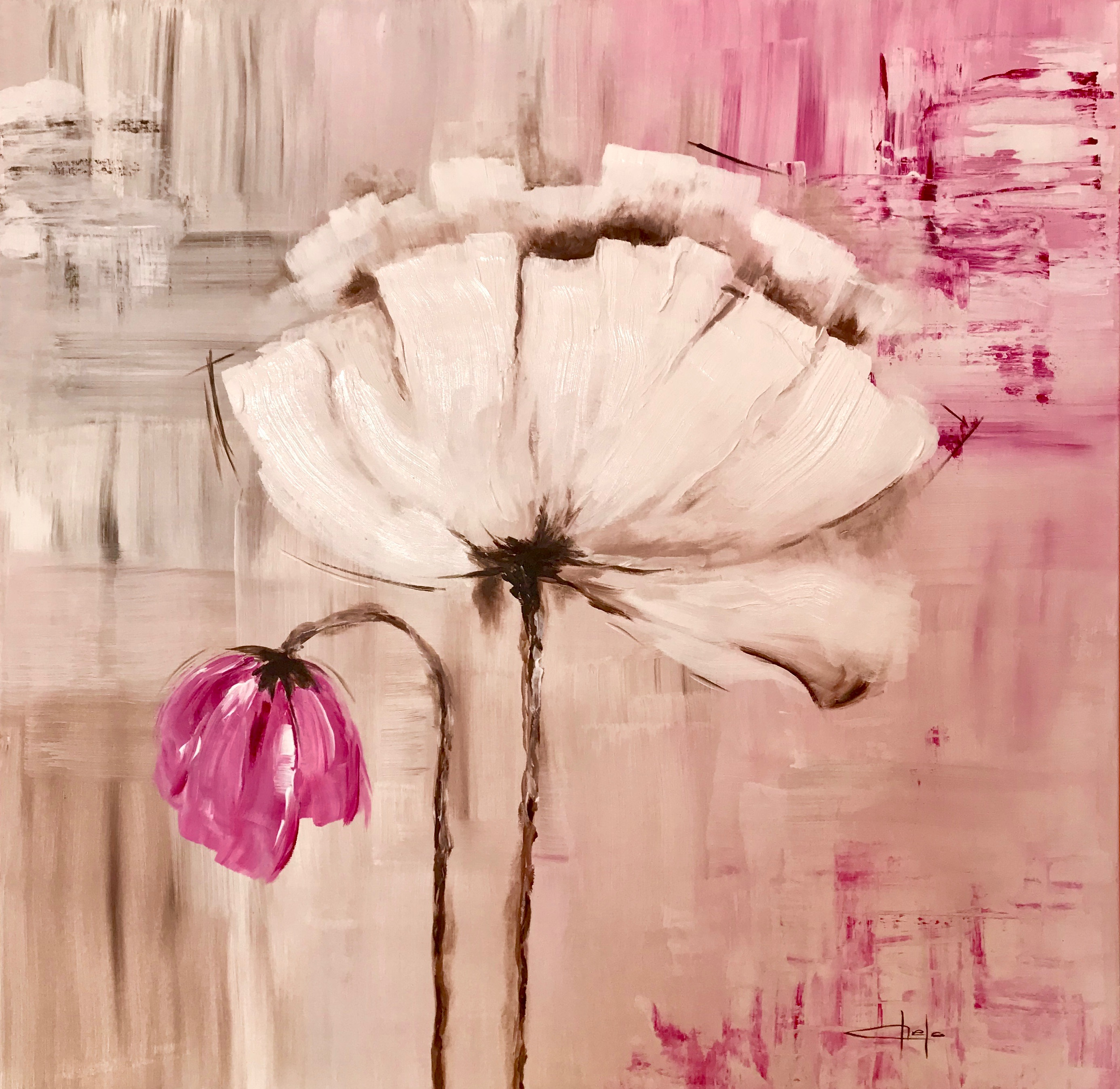 «Flor blanca 2»