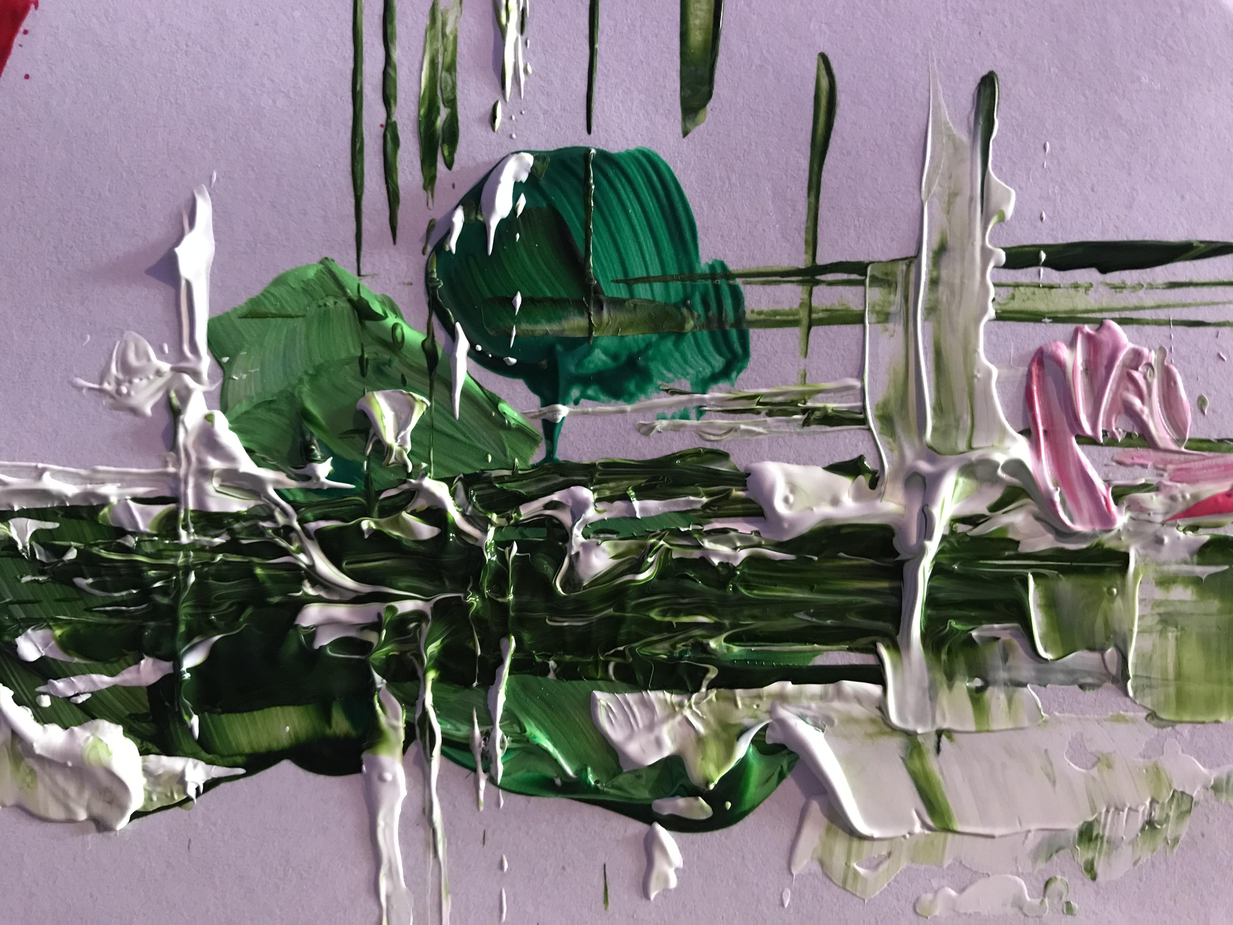 «Abstracto verdes»
