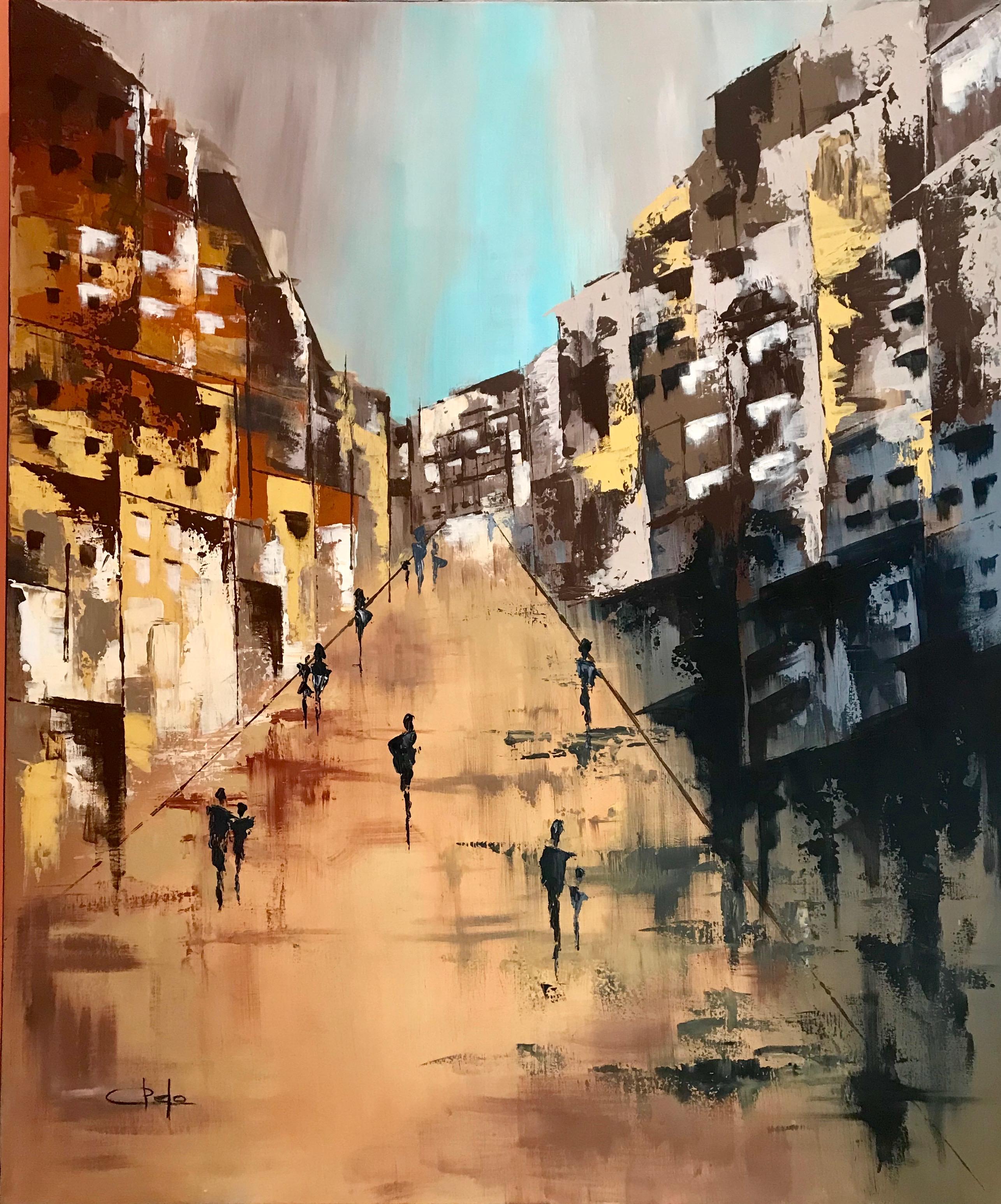 «Una calle de Teruel»