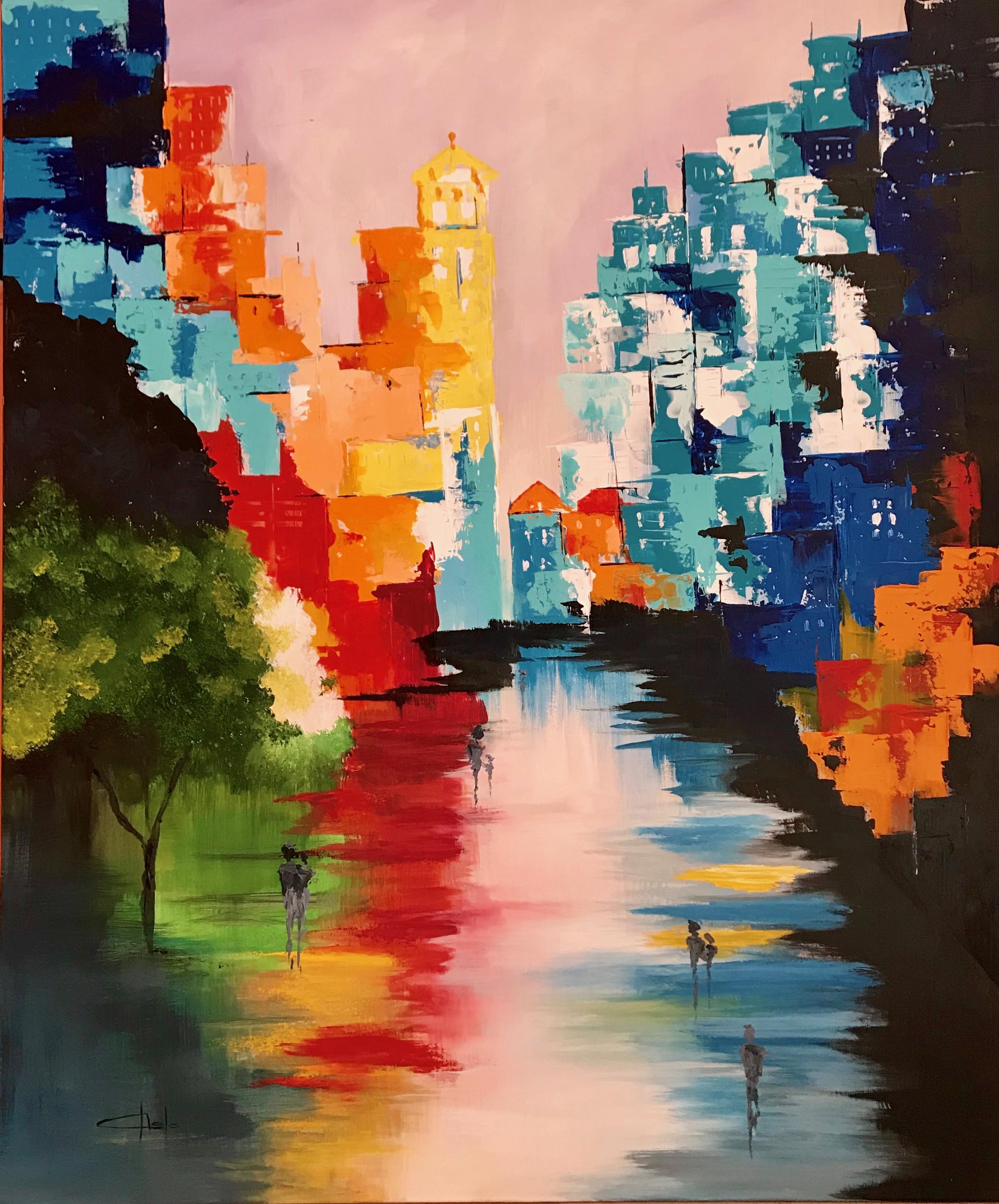 «Abstracto Urbano colores»