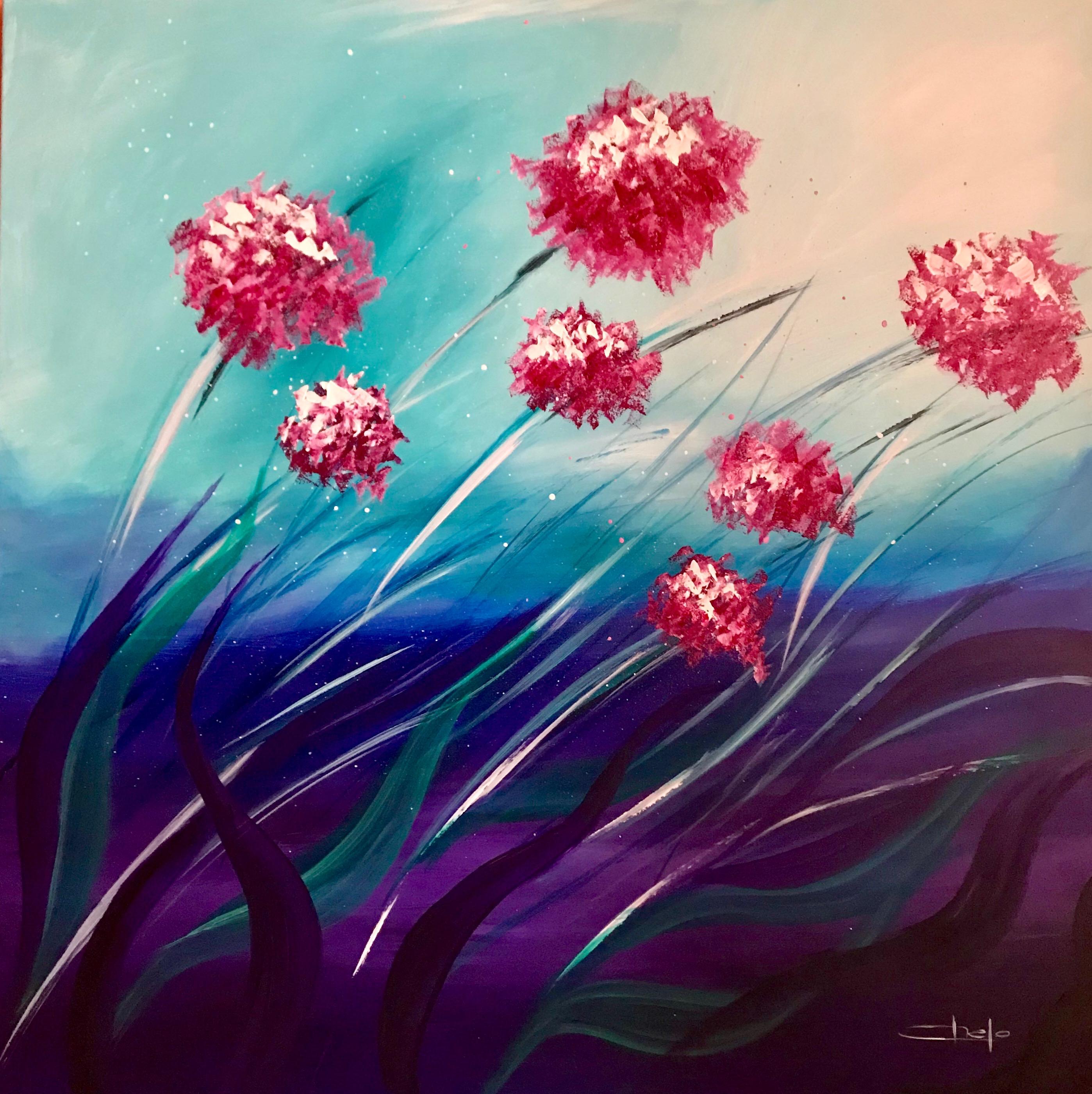 «Flores en movimiento»