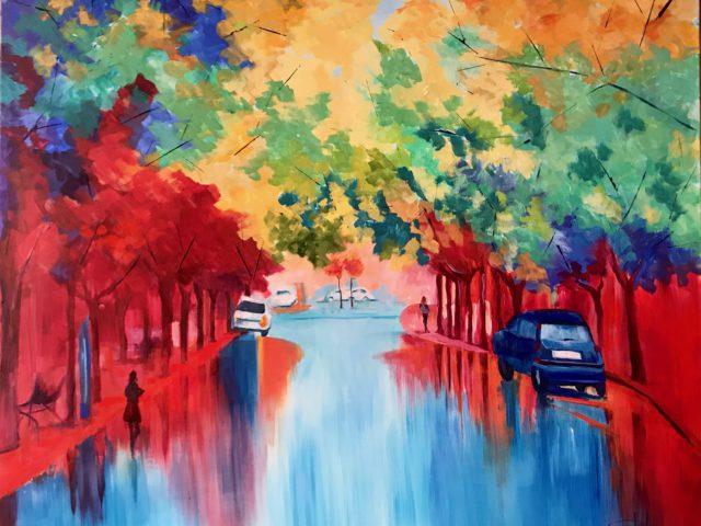 «Una calle en La Fuenfresca»