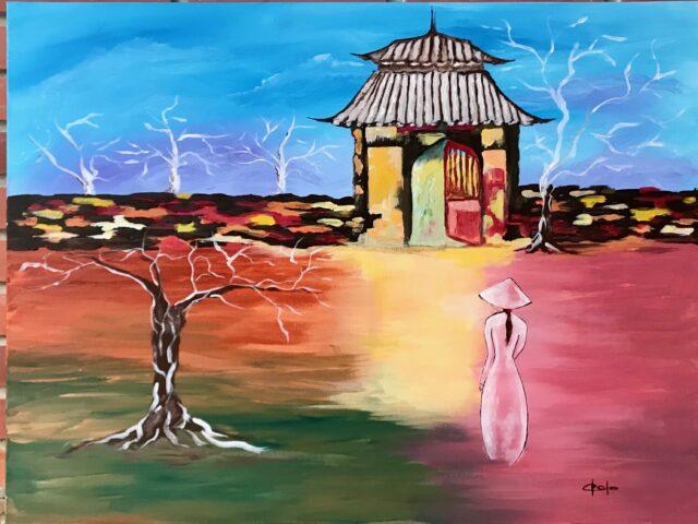 «Paisaje pagoda»