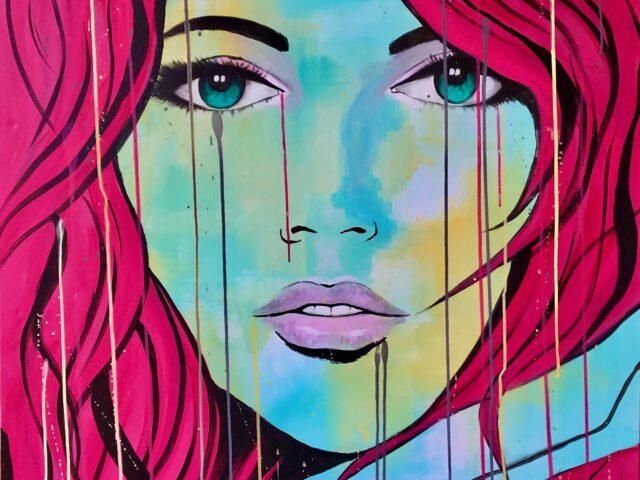 «Chica pelo rosa»