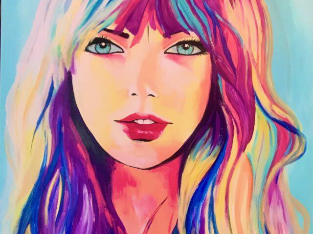 «Chica pelo colores»