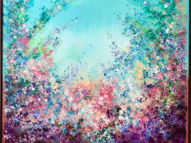 «Explosión colores turquesa»