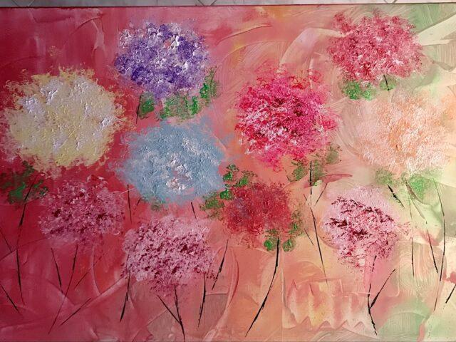 «Mesa floral»